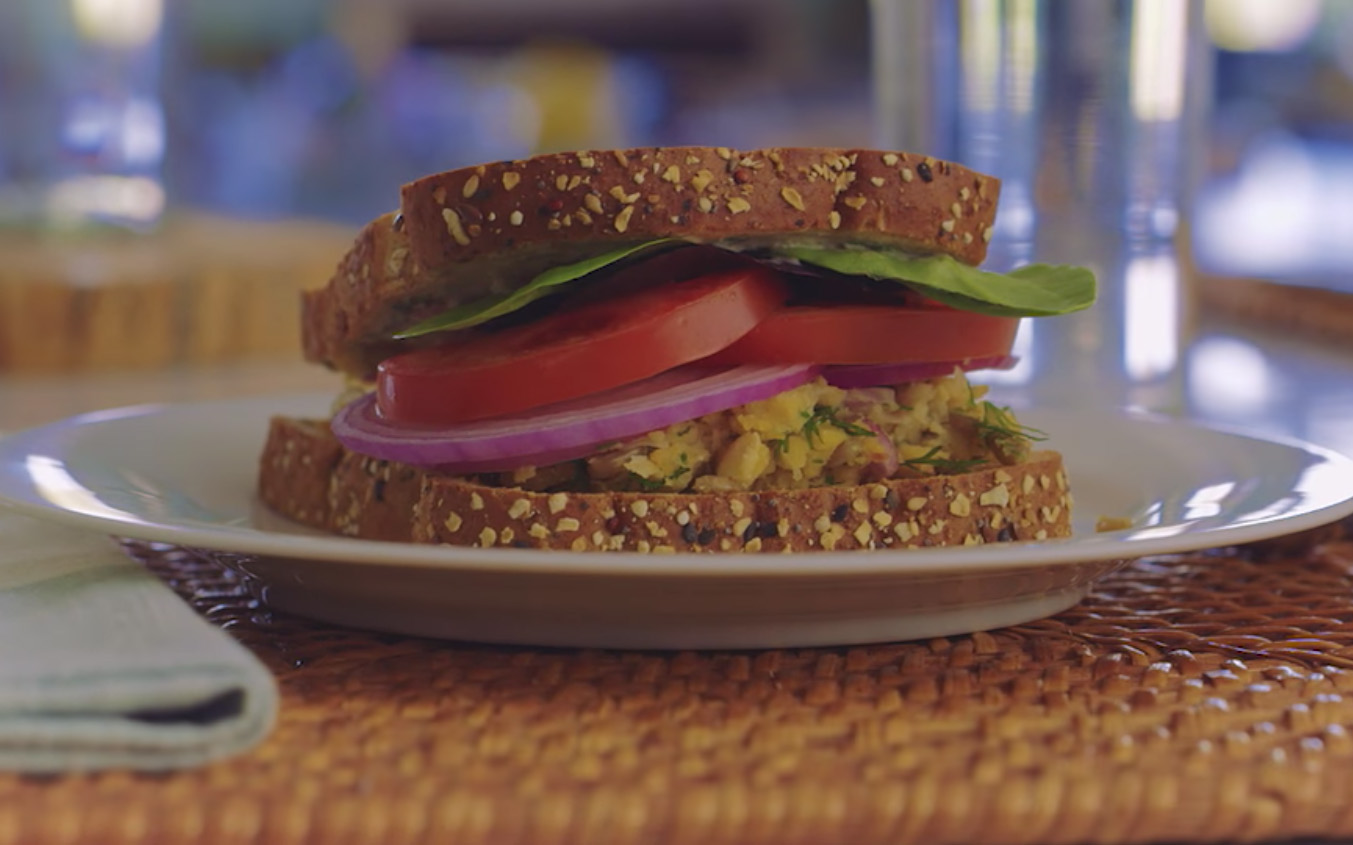 Brain Food: Brain-Building Chickpea Sandwich teaser image
