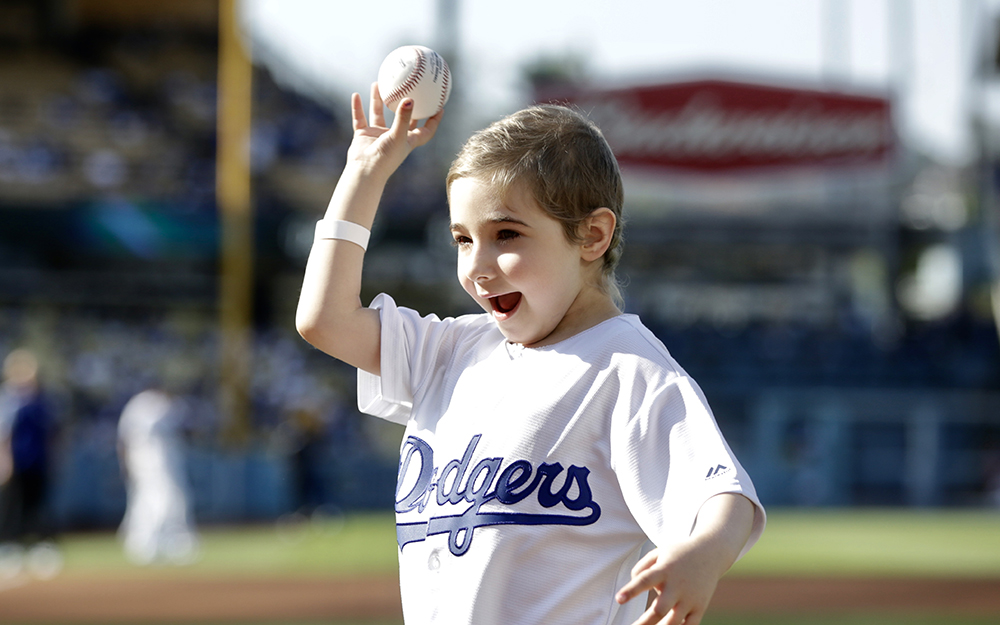 Dodgers Superfan Elysa Throws Out First Pitch teaser image