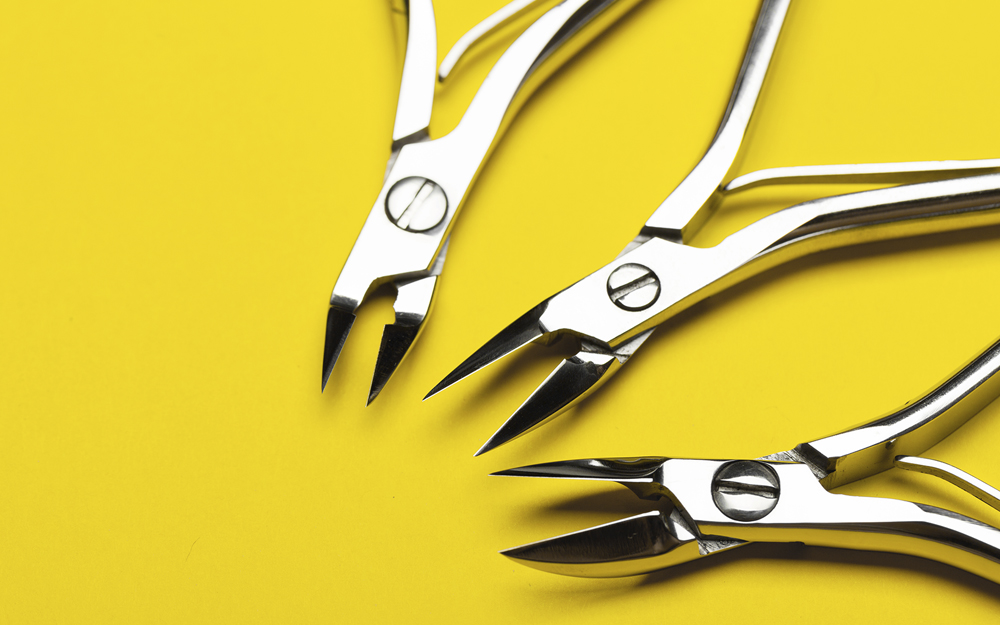 safety, mani-pedi, nail cutters, nippers, safe manicure, nail salon, manicure and pedicure safety