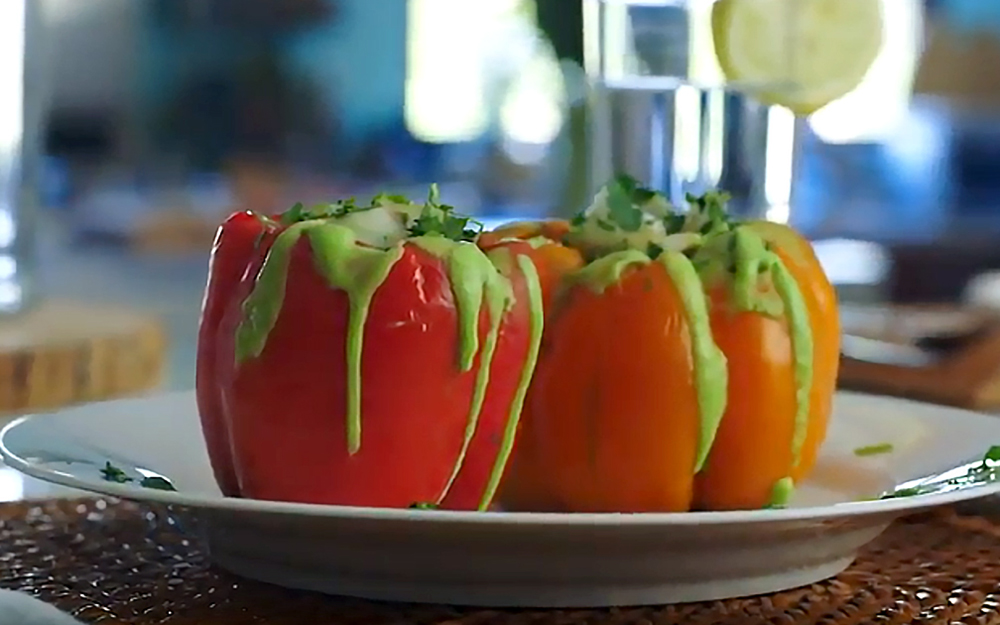 Brain Food: Quinoa Stuffed Bell Pepper teaser image