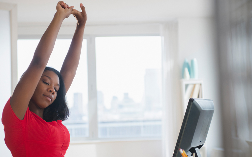 Desk Yoga: Poses to Try at Your Desk teaser image