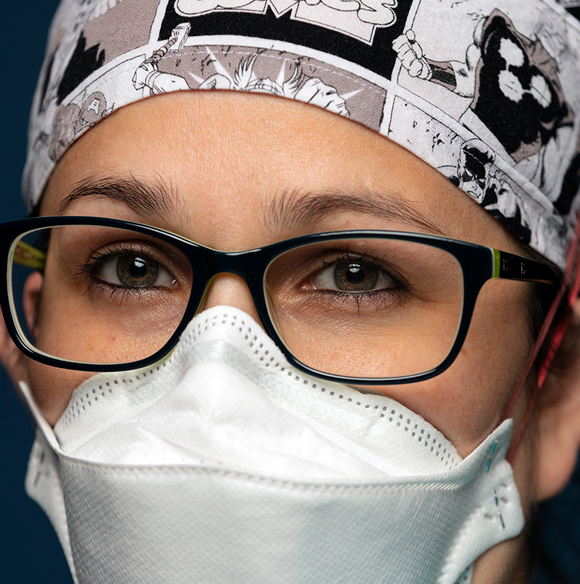 Pulmonary and Critical Care Medicine fellow Angelena Lopez, MD