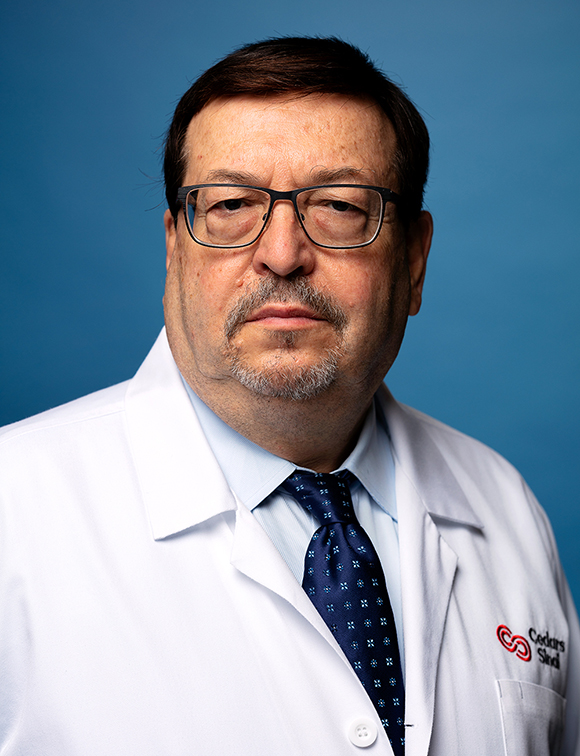 Director of the Division of Pediatric Infectious Diseases, Moshe Arditi, MD