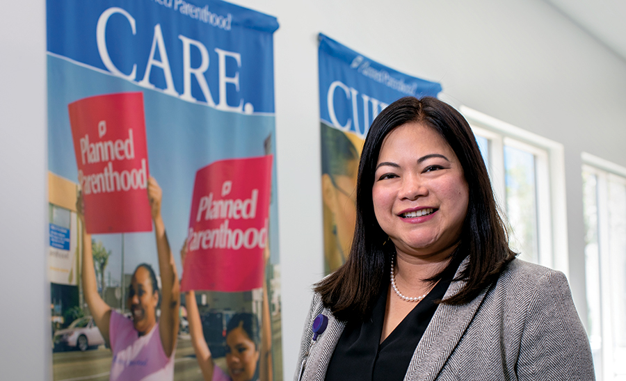 Anne Matining, RN, MBA, Vice President of Patient Services at Planned Parenthood Los Angeles