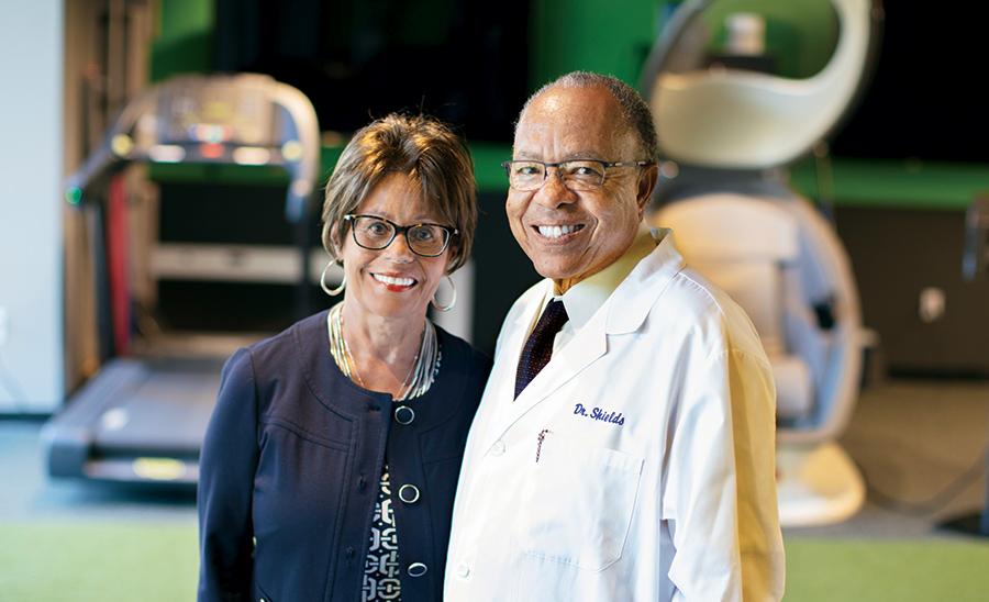Barbara Shields and Clarence L. Shields Jr., MD