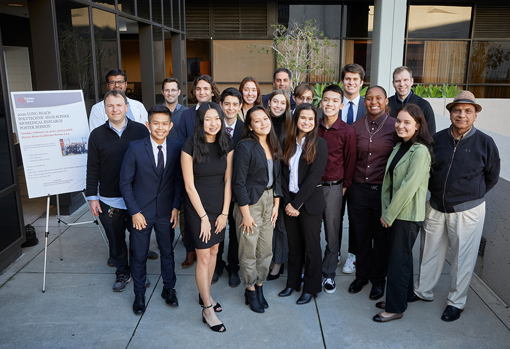 mentors, students, biomedical research program, Cedars-Sinai